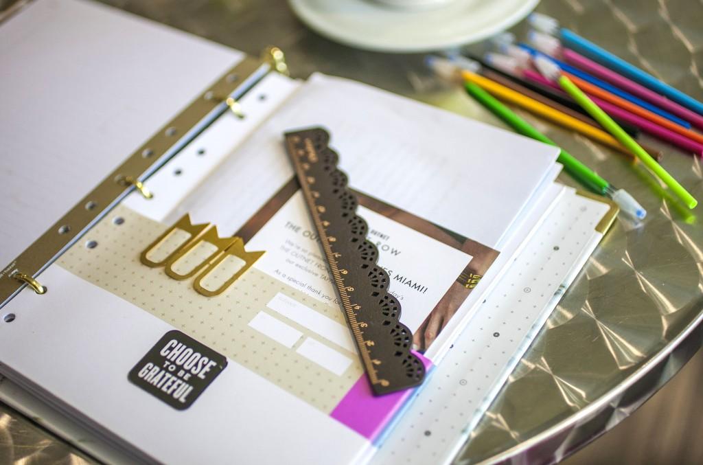 Fashion Blogger Planner Organizer Binder