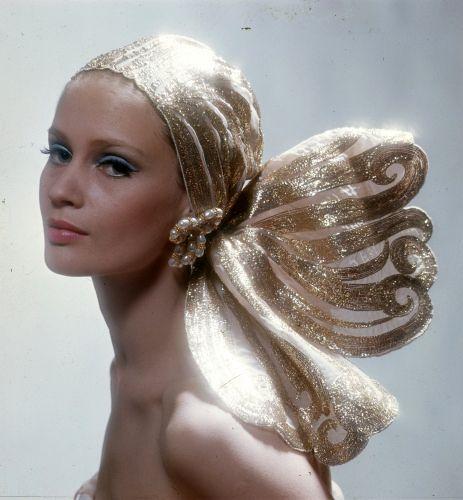 Gold Headwrap Vintage Beauty