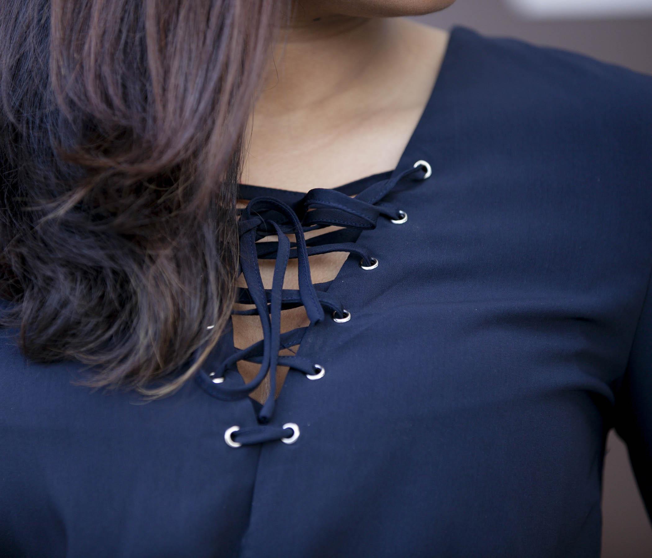 Romper Lace Details