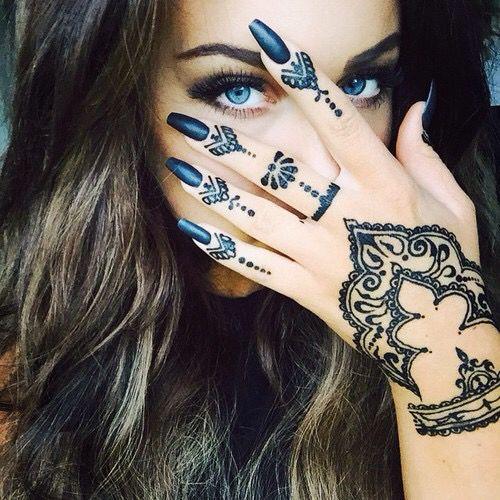Black Henna Festival Art Style
