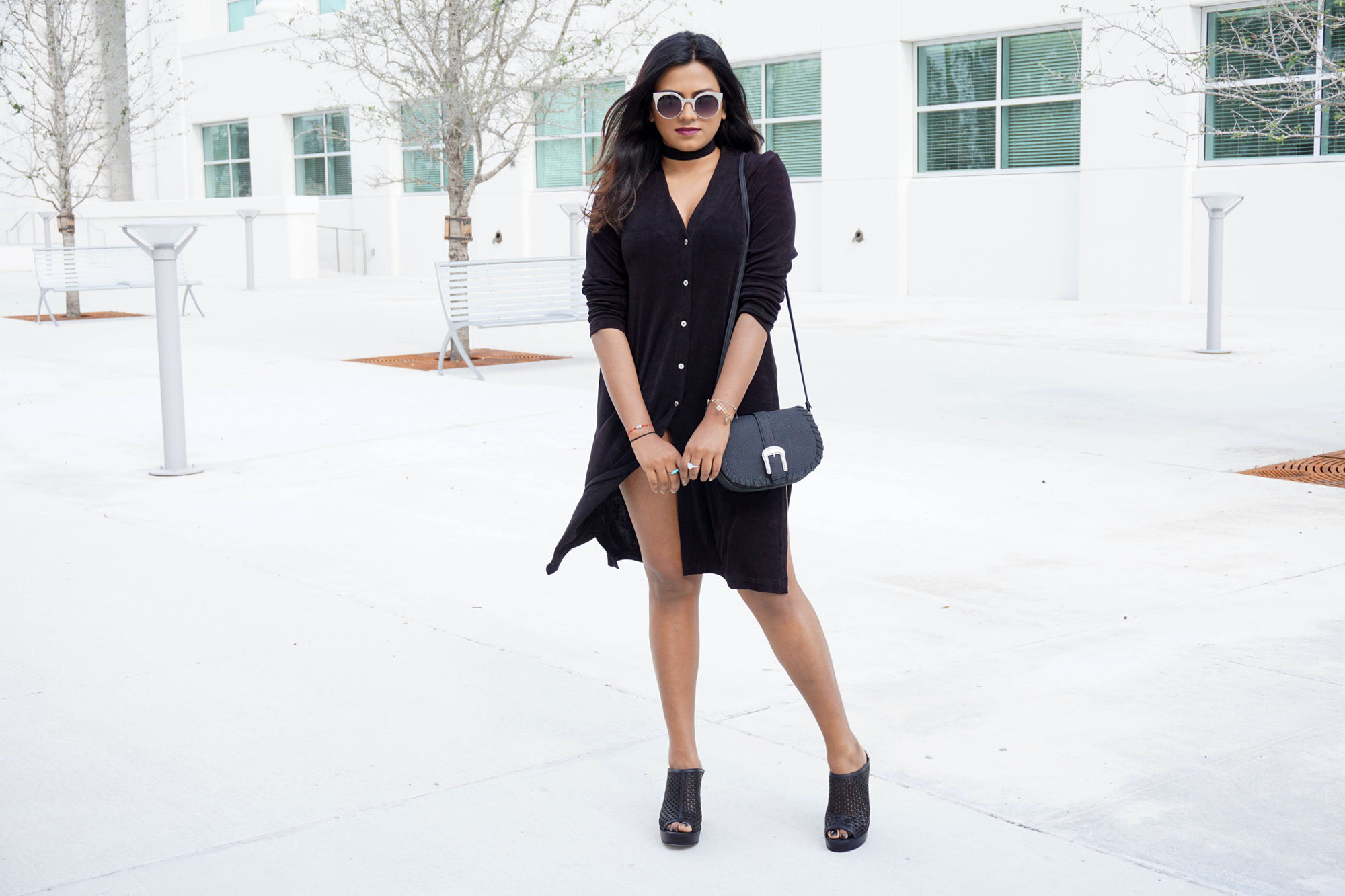 Miami Fashion Blogger Afroza Khan Chic Outfit
