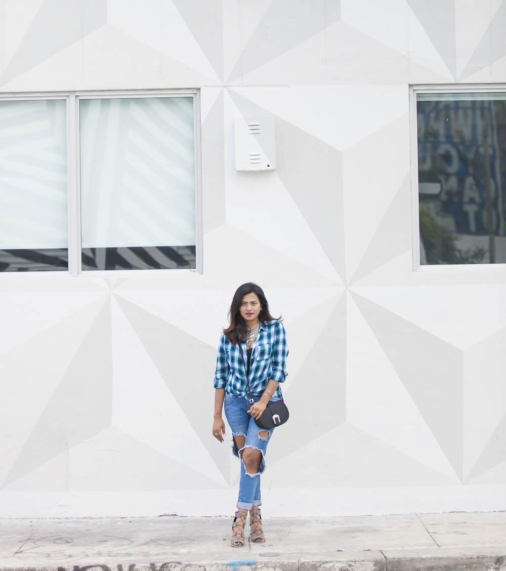 Afroza Khan Miami Street Style