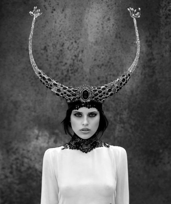 Couture Fashion Bull Horn Jewelry