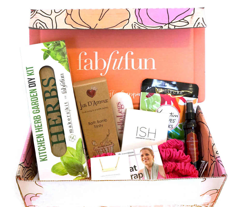 FabFitFun Spring 2016 Subscription Box
