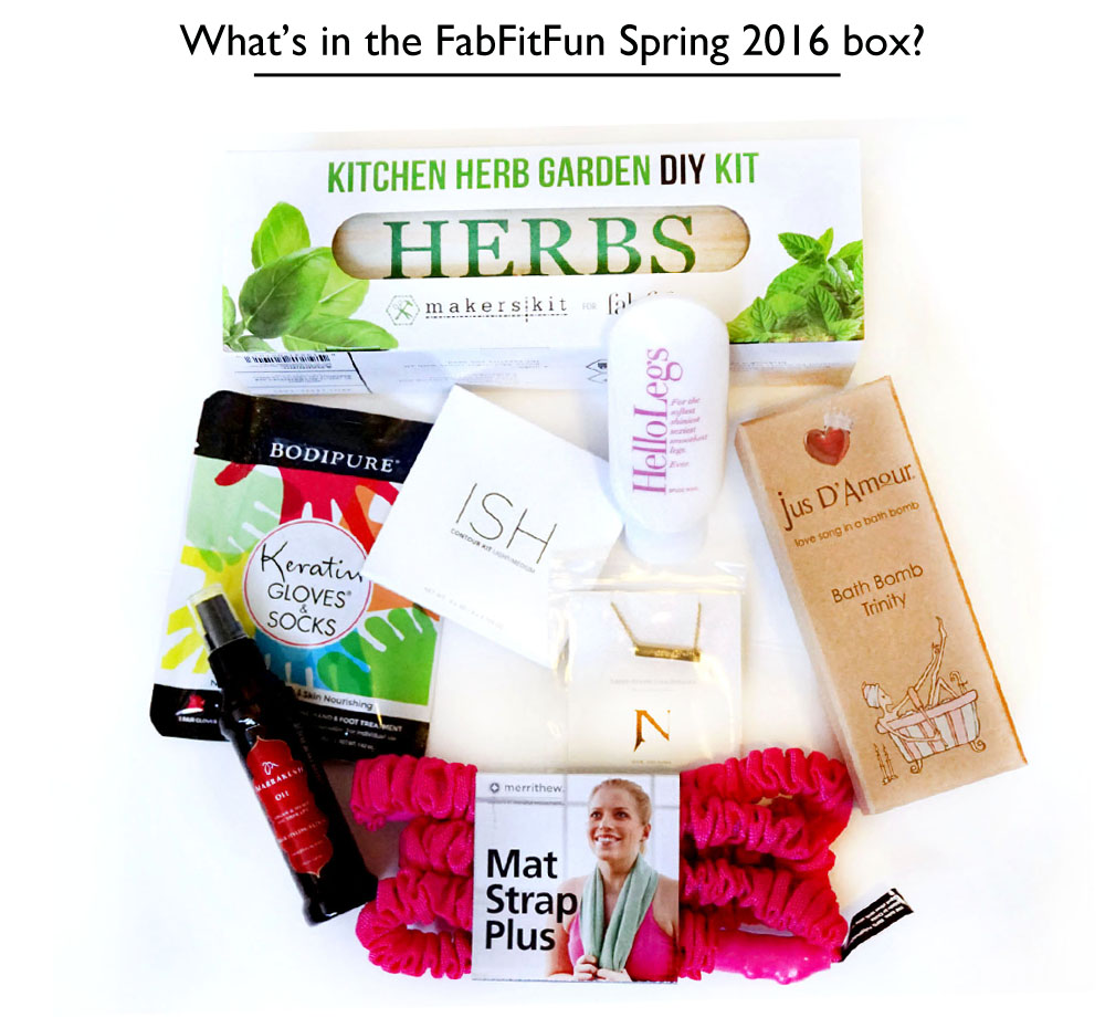 What's in the fabfitfun spring 2016 box copy