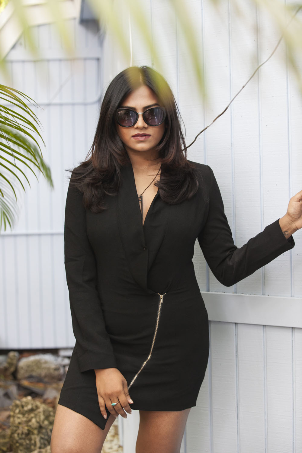 Black Tuxedo Dress Fashion Street Style