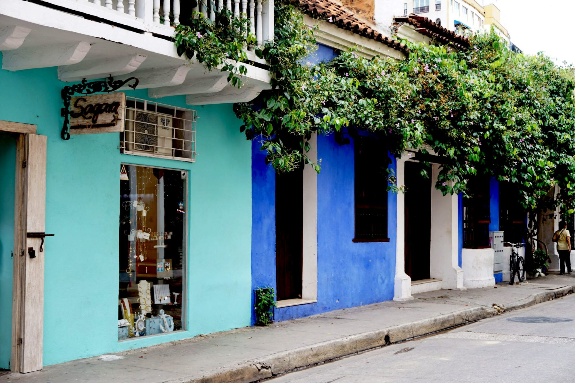 Shades of Blue Cartagena Street