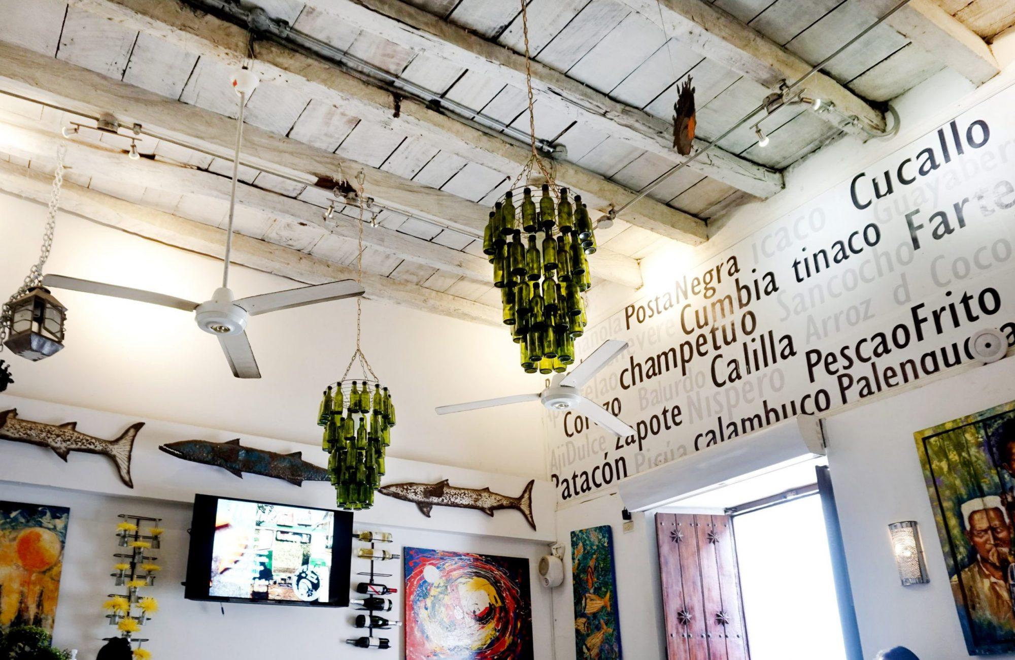 Restaurante La Mulata Cartagena Colombia