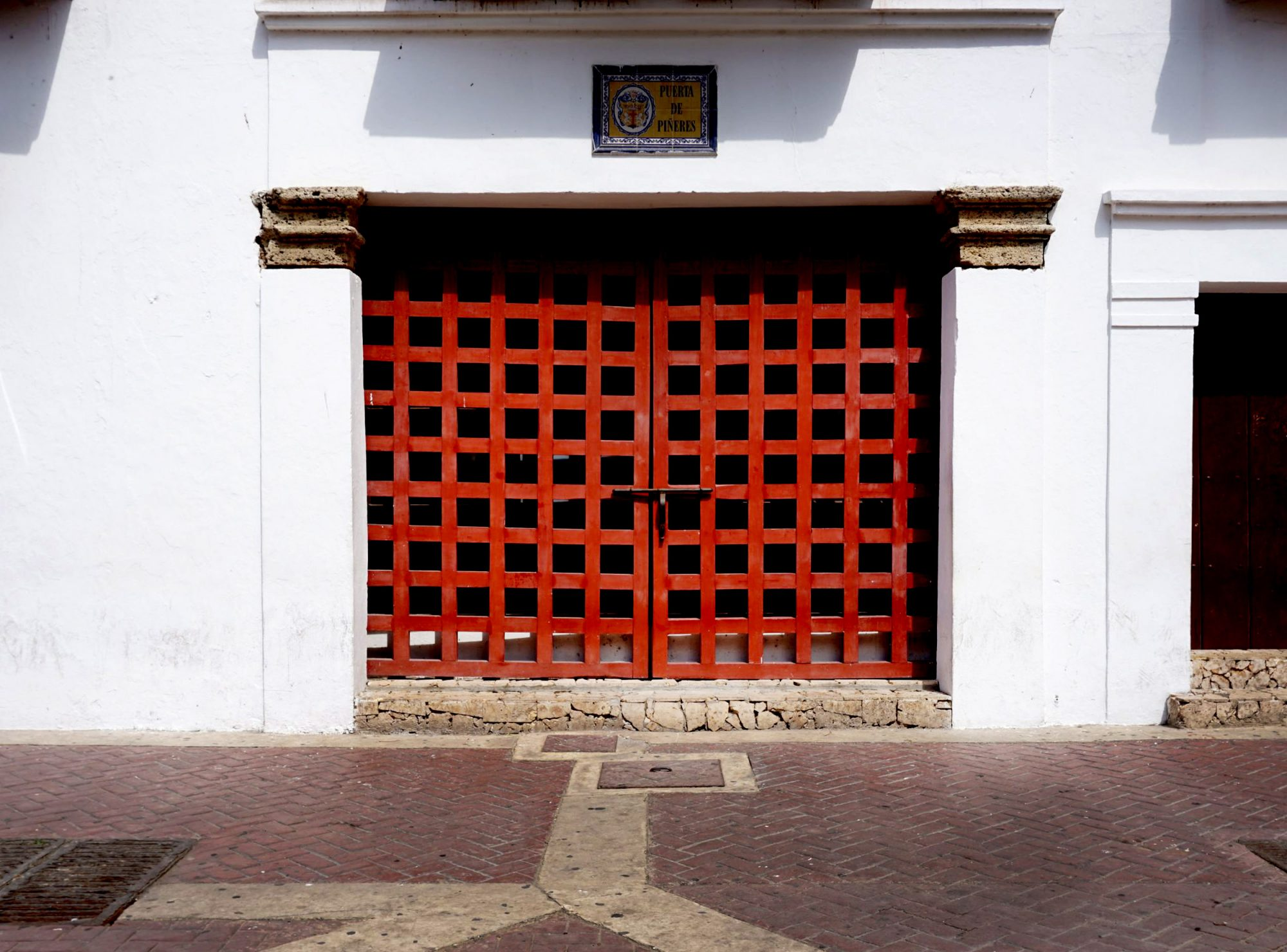 Cartagena de Indias Red Gate