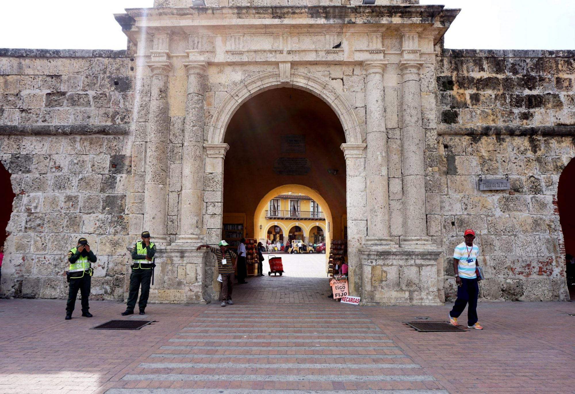 Cartagena Main Entrance