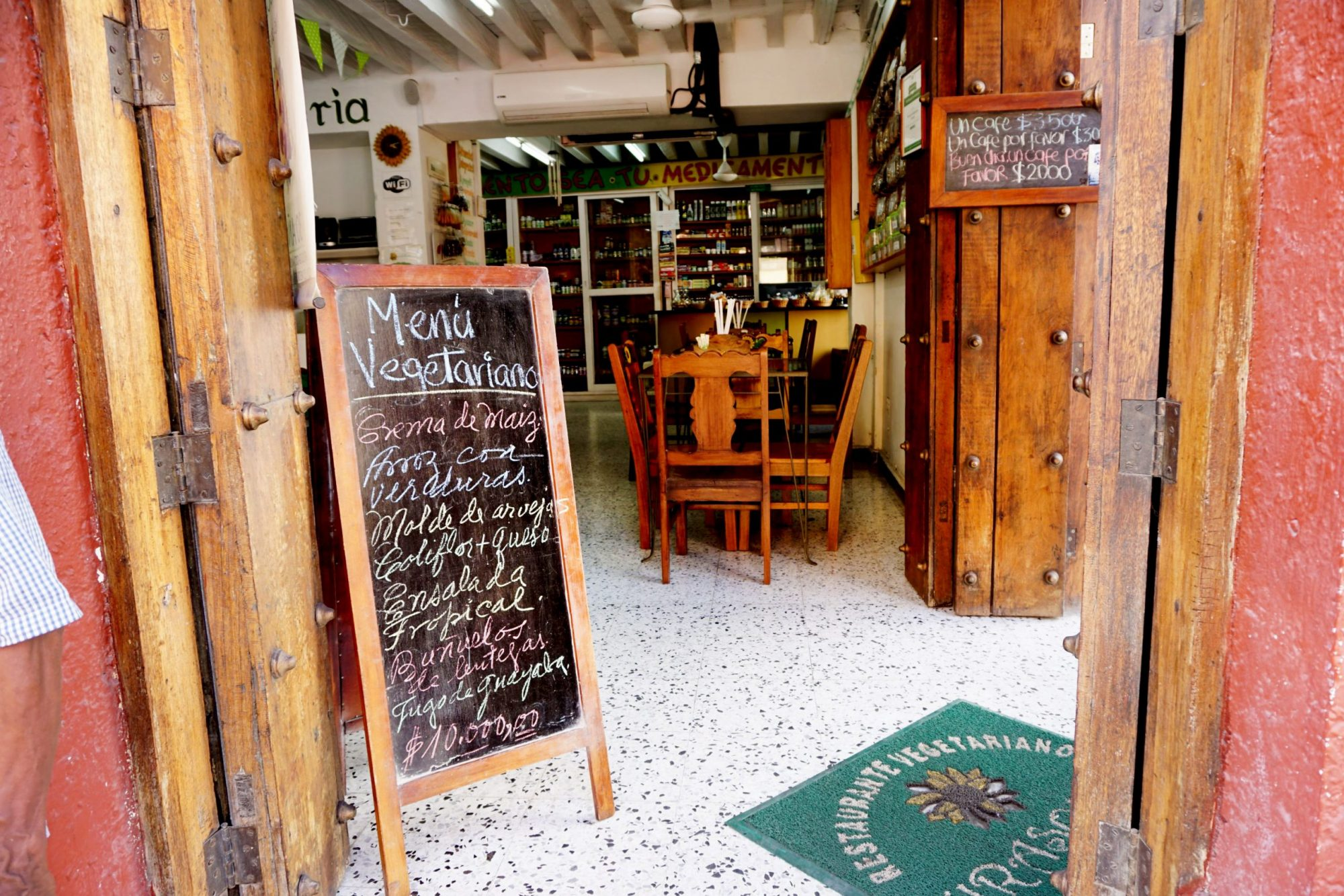 Vegetarian Vegan Restaurant in Cartagena Girasoles