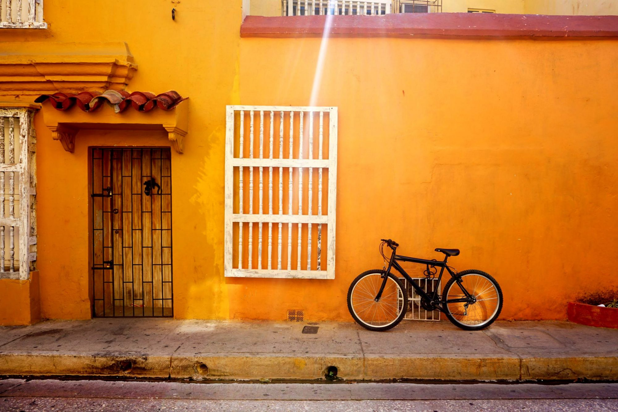 Getsemaní Cartagena Lonely Bike