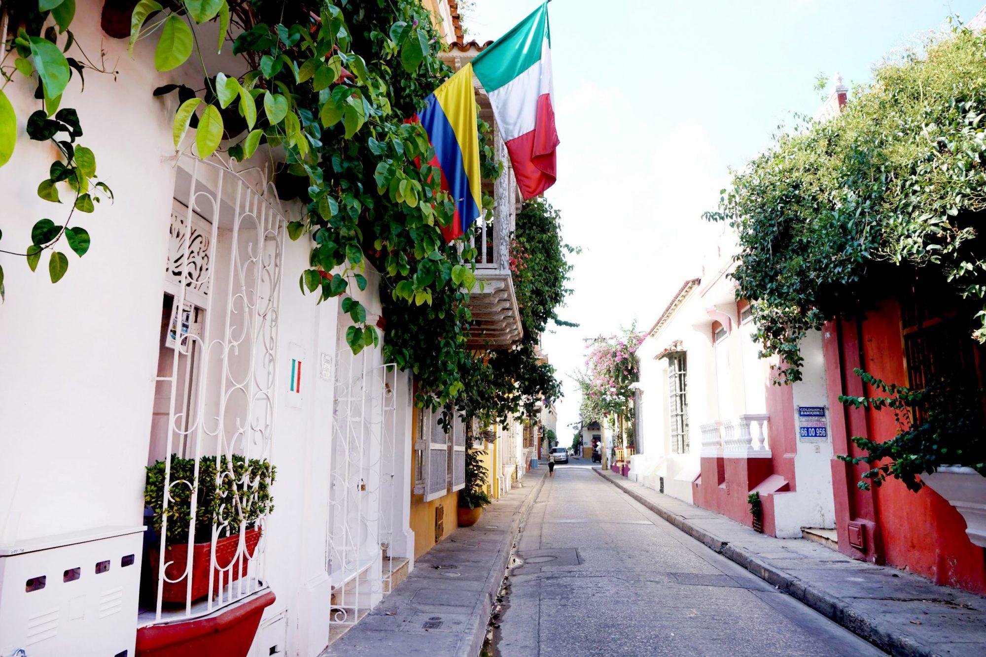 Getsemaní Cartagena Streets