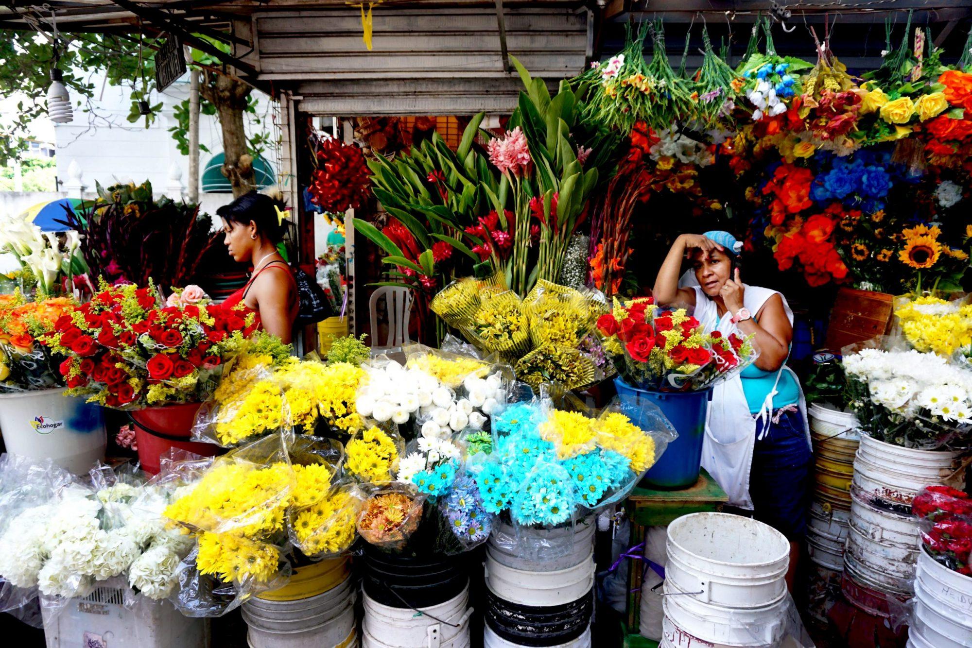 Getsemaní Cartagena Flower Market
