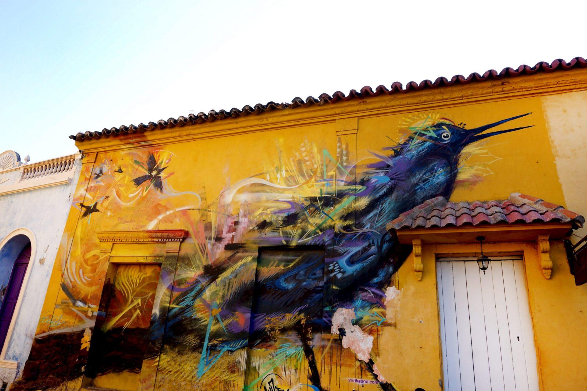 Getsemaní Cartagena Mulata Mural