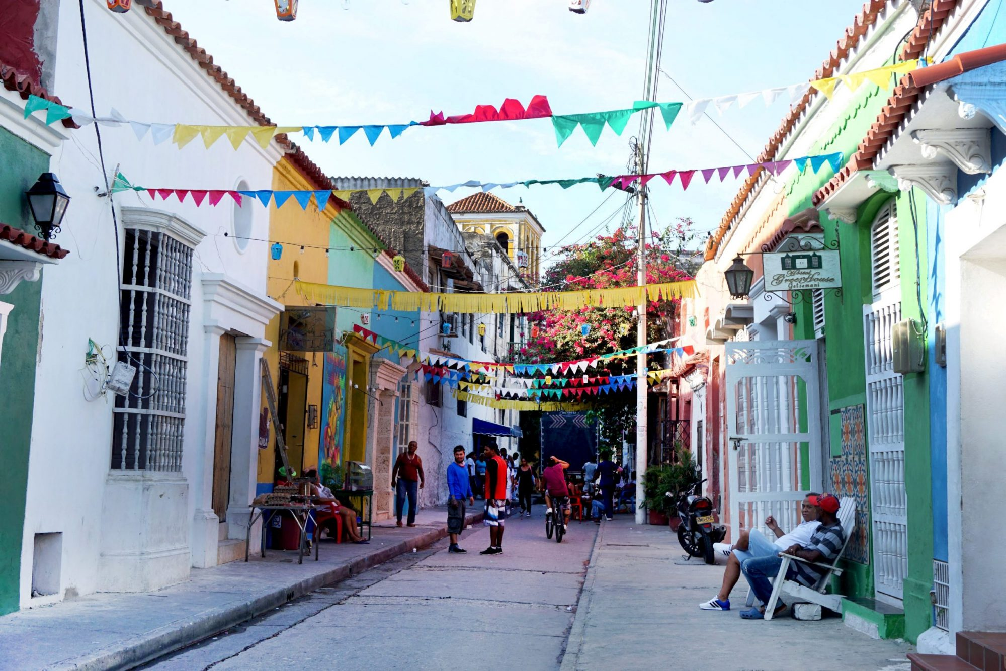 Getsemaní Cartagena Colorful Streets