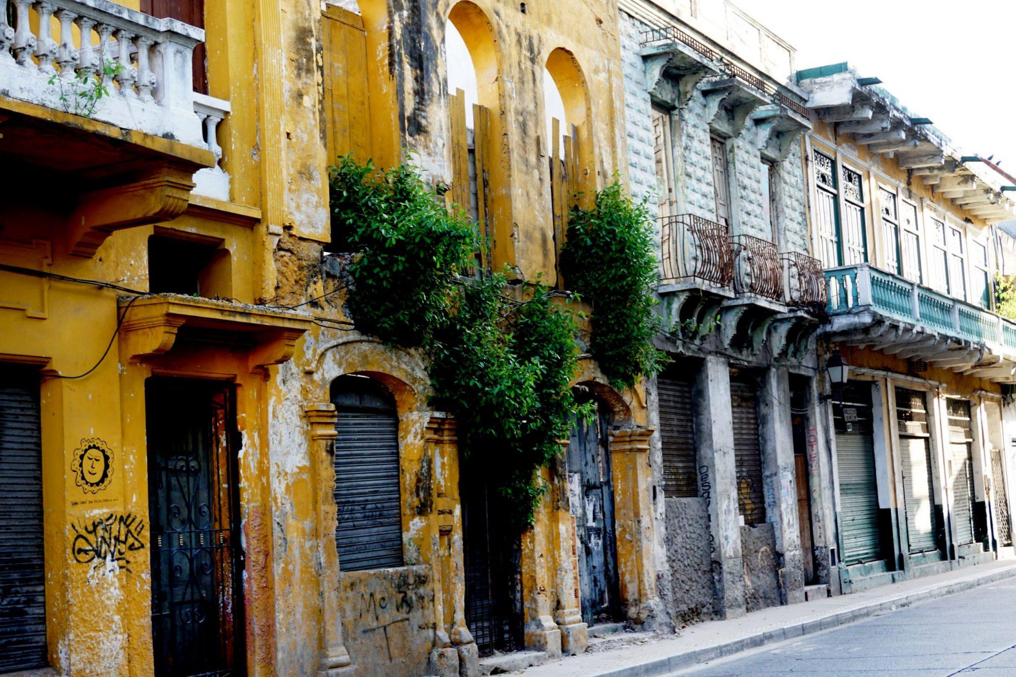 Getsemaní Cartagena Ruins