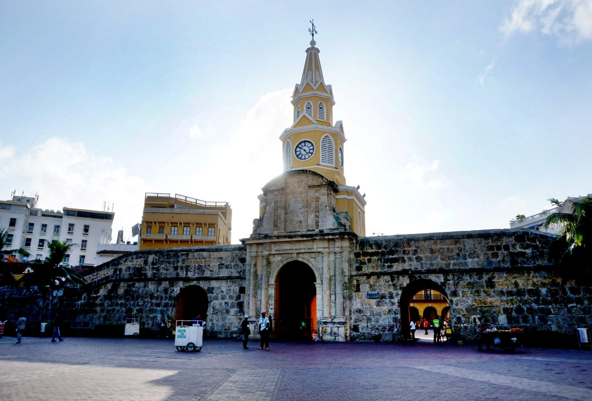 Clock Tower Gate Cartagena