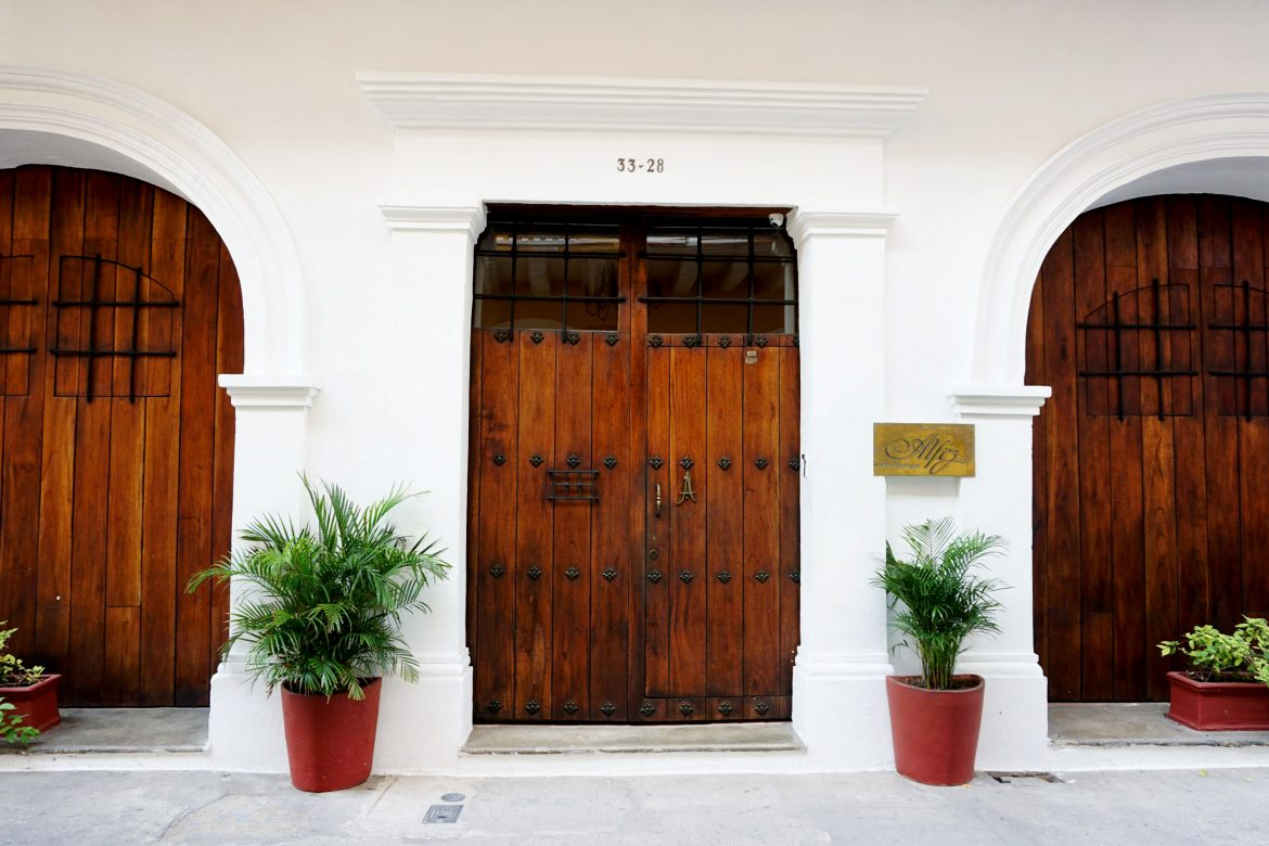 Solo Trip Vacation Stay at the Alfiz Hotel Boutique in Cartagena, Colombia