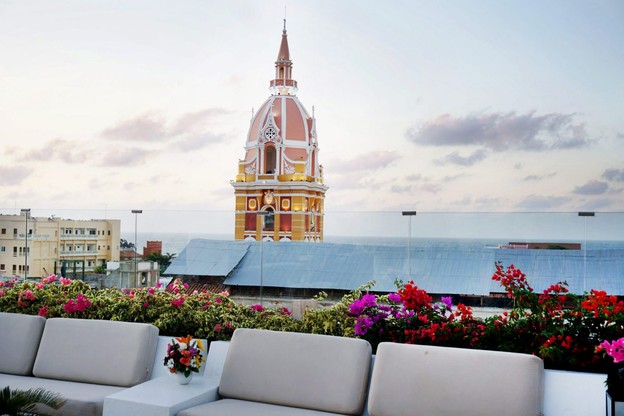 Movich Rooftop View of Cartagena
