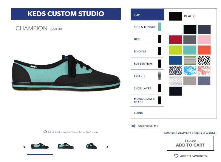 Keds Custom Studio Design