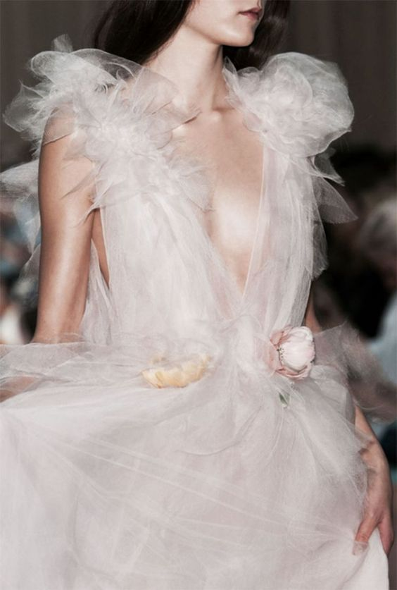 Sheer Princess Tulle Dress