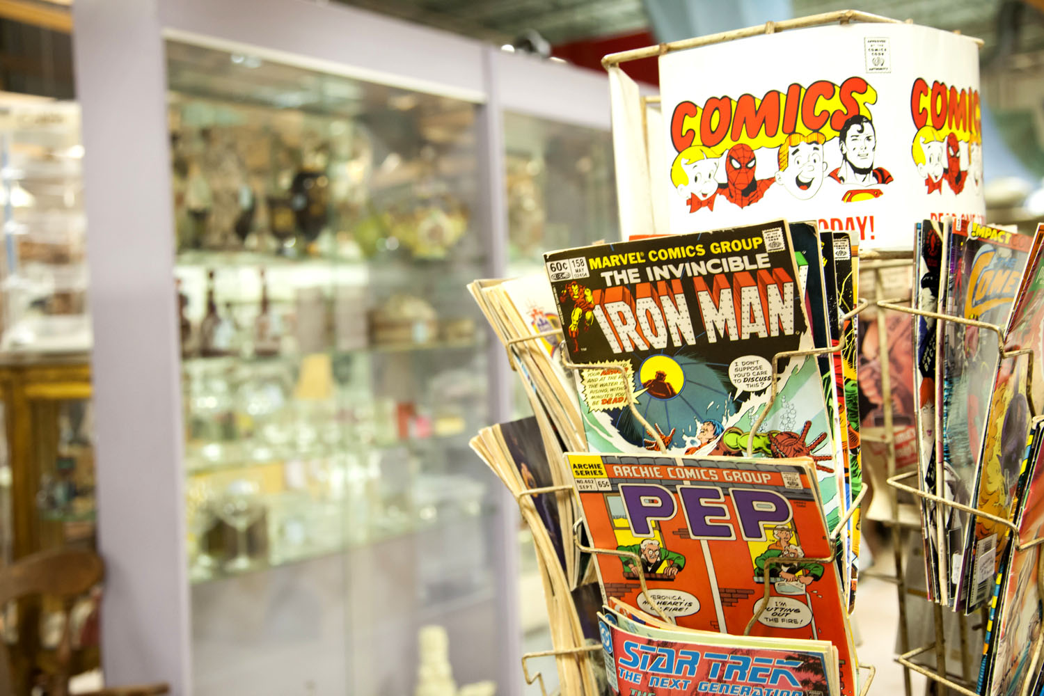 Hillsboro Antique Mall Vintage Comics