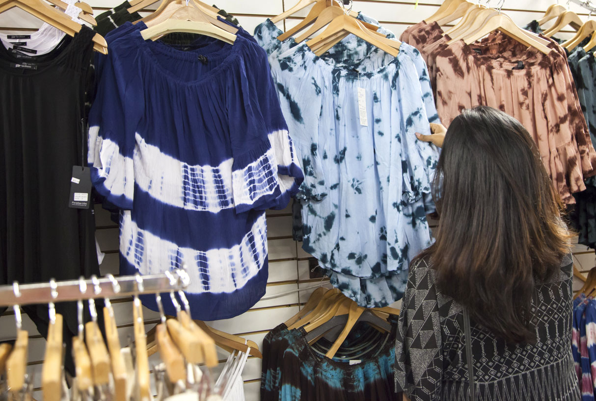 Off The Shoulder Tops at Festival Flea Marke
