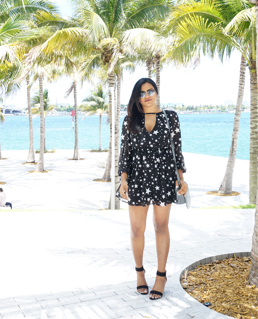 Starry Dress Miami Fashion Blogger