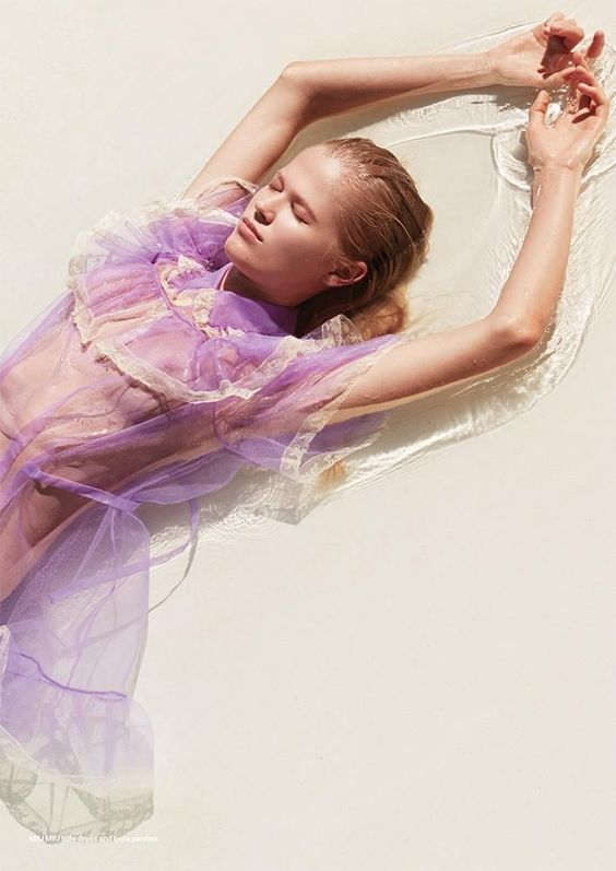 Light Purple Sheer Fashion