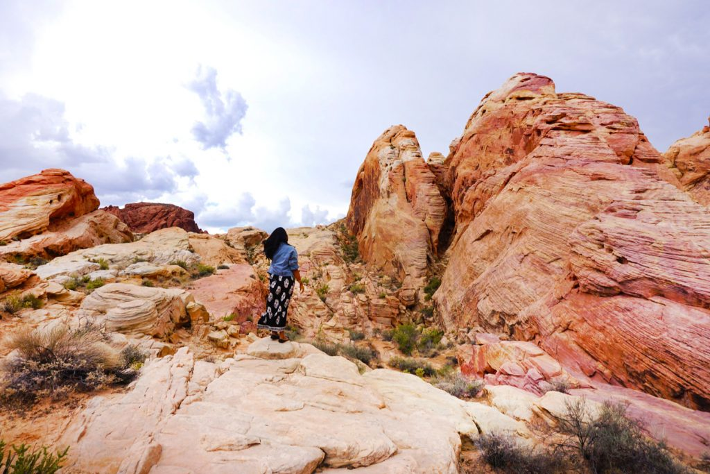 Afroza Khan Travel Blogger Visit Nevada