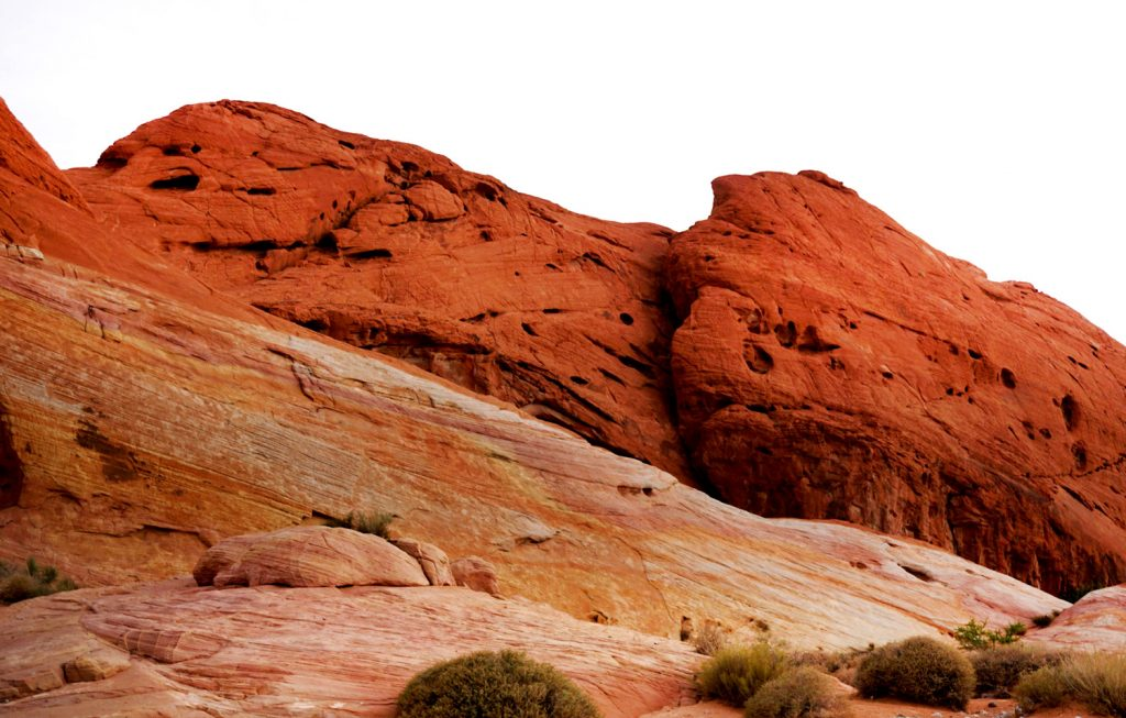 Fiery red Valley of fire