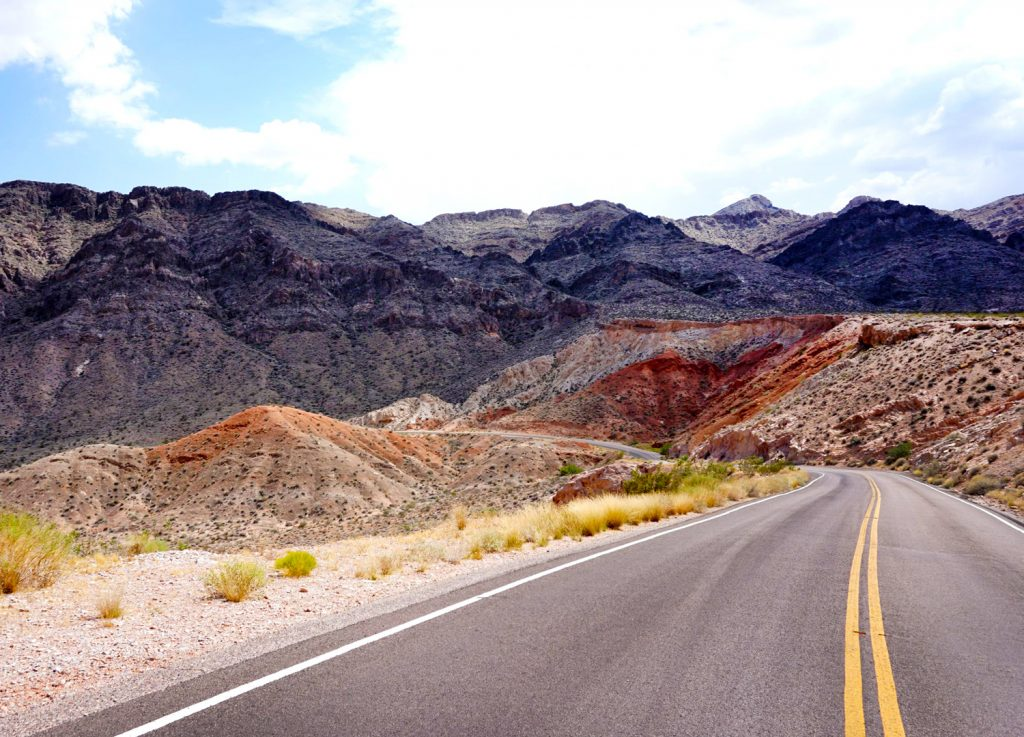 Valley of Fire Driving Road