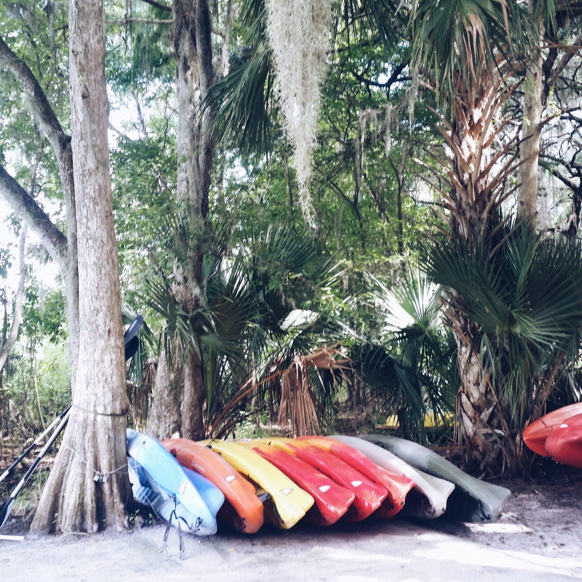 Canoe Rental at Blue Spring State Park