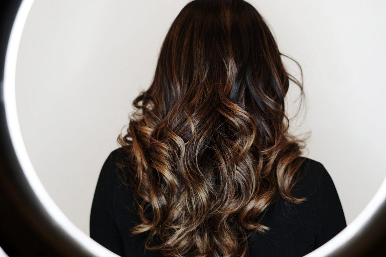Fall Balayage Hair by Miami Hairstylist Carolina Vengoechea