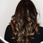 Fashion Fall Ombre Balayge Brunette Hairstyle