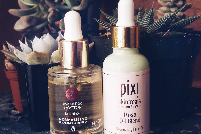 My Favorite Facial Oils: Pixi & Manuka Doctor