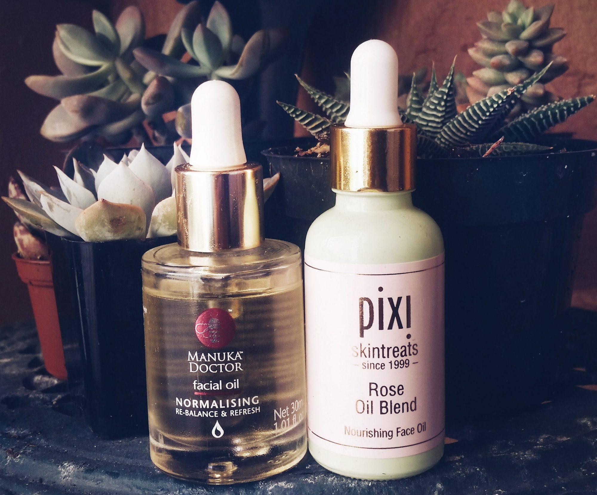 Facial Oils Review Pixie & Manuka Doctor
