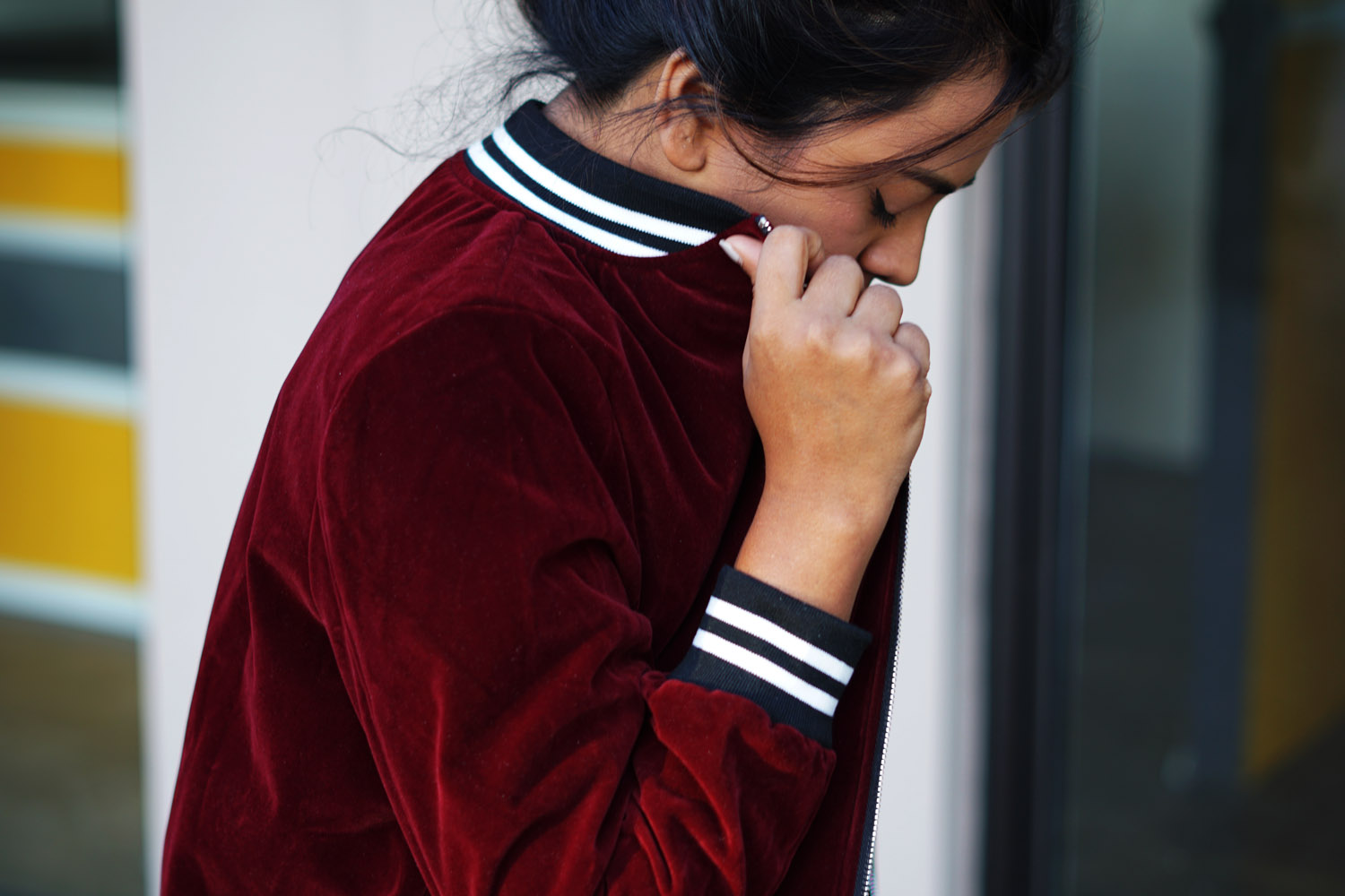 velvet-burgundy-white-stripe-jacket