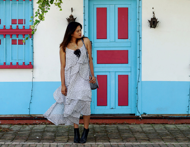Layered Midi Dress - Chic Stylista