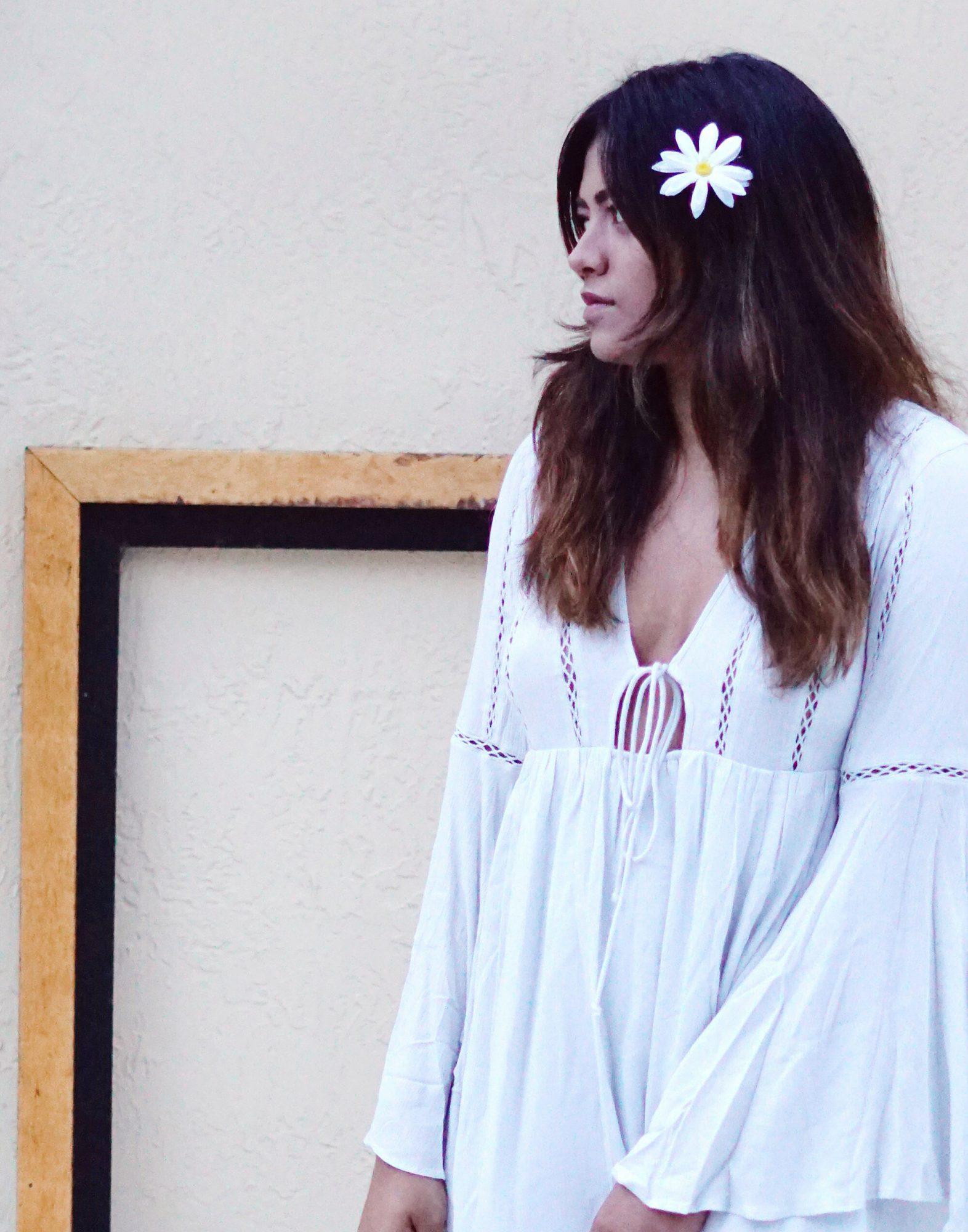 Lana Del Rey Love Inspired Boho Festival Look