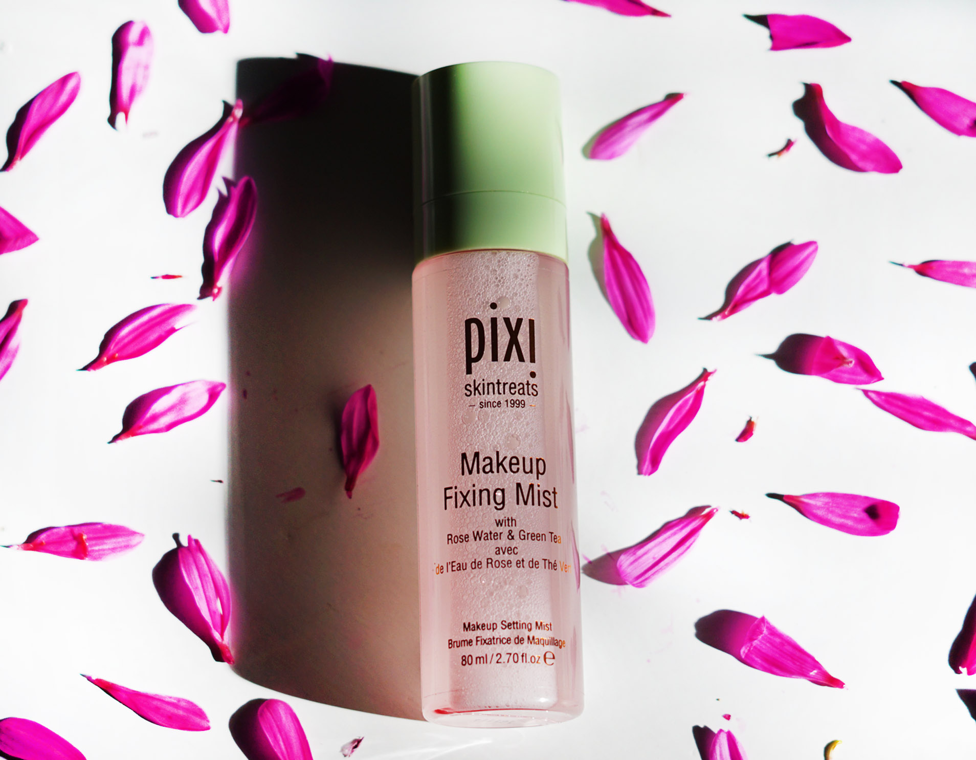 Pixi Beauty Makeup Fixing Mist Setting Spray Review