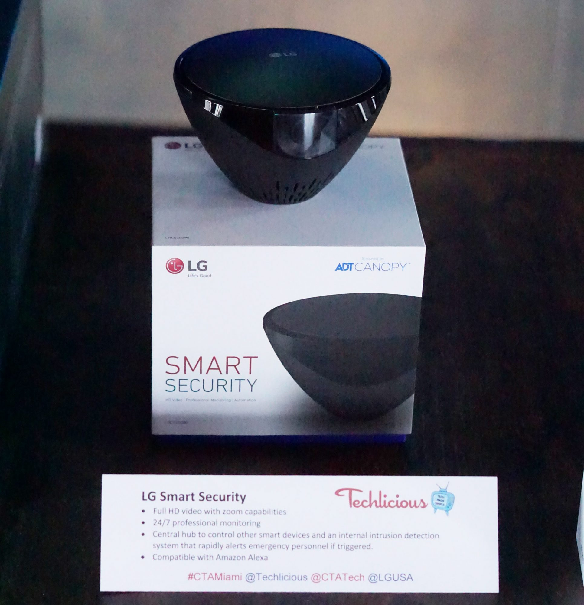 LG Smart Security Digital Tech Influencer