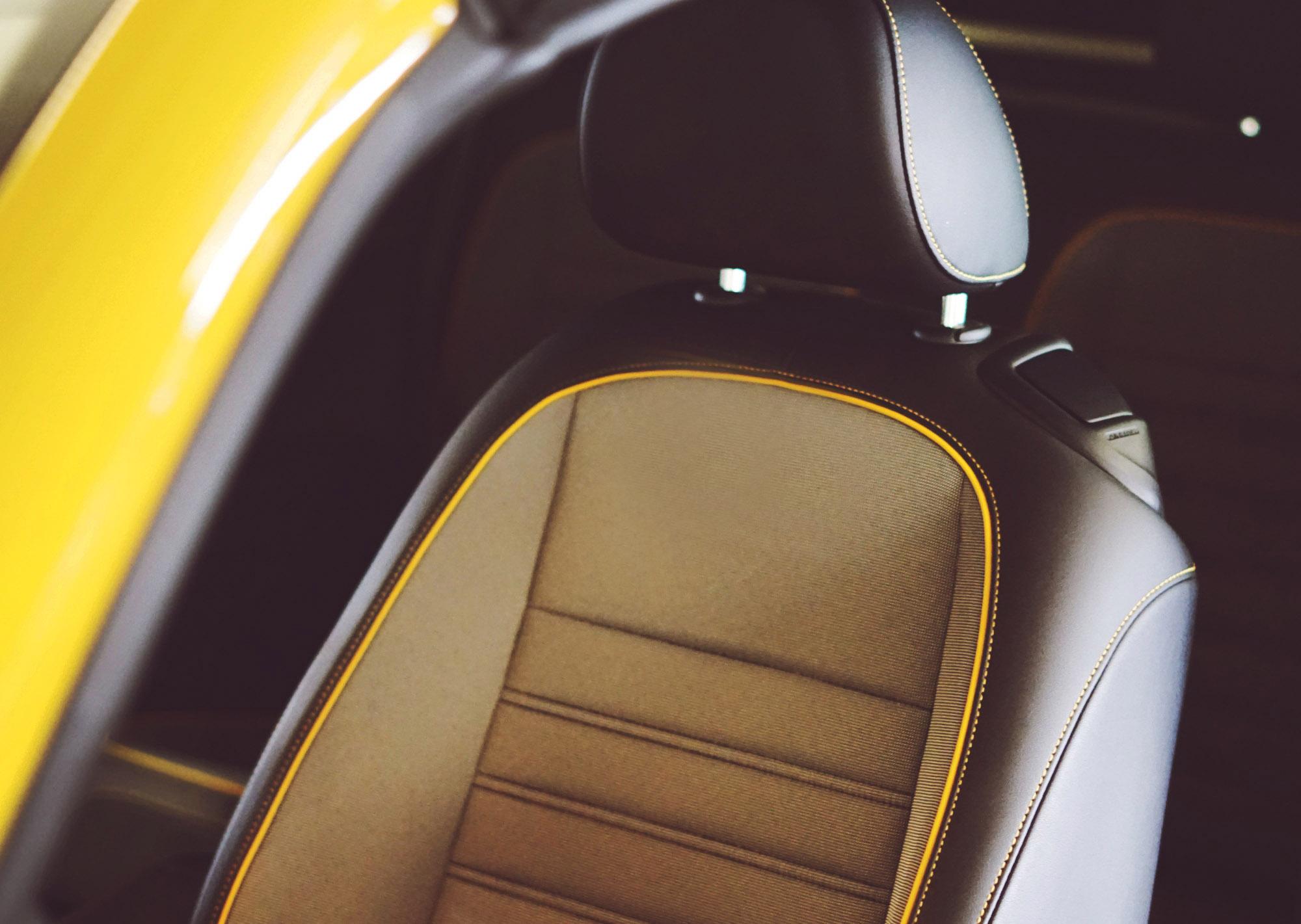 Volkswagen Dune Car Seat Detail