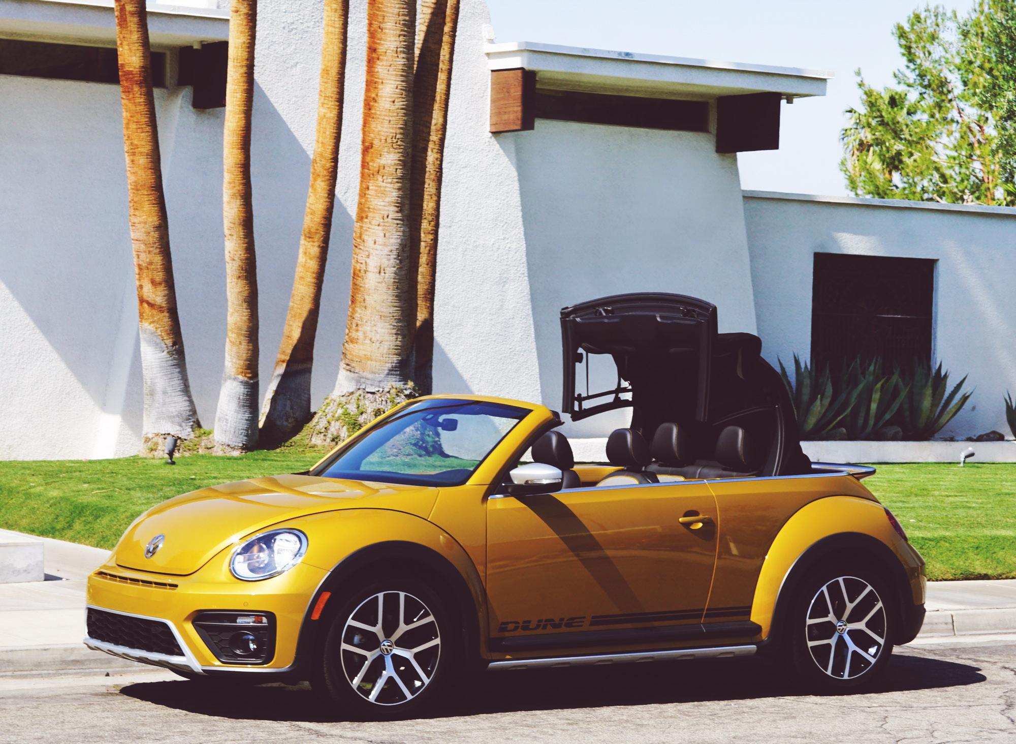 Volkswagen Dune Convertible in Palm Springs California