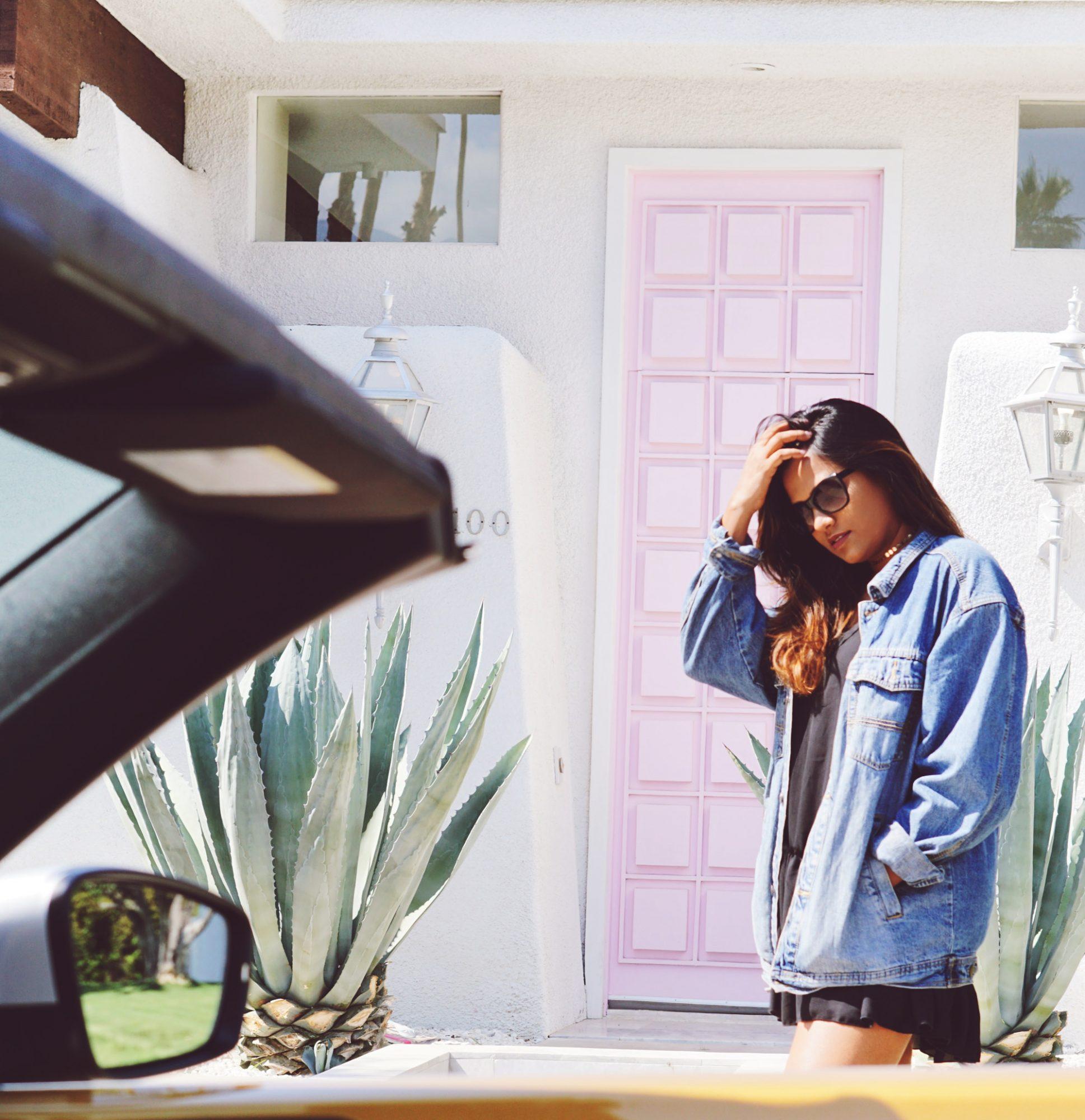 That Pink Door Palm Springs California