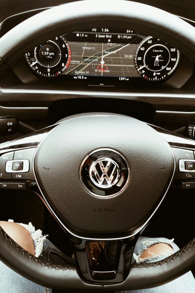Volkwagen Tiguan Media Drive Blogger GPS
