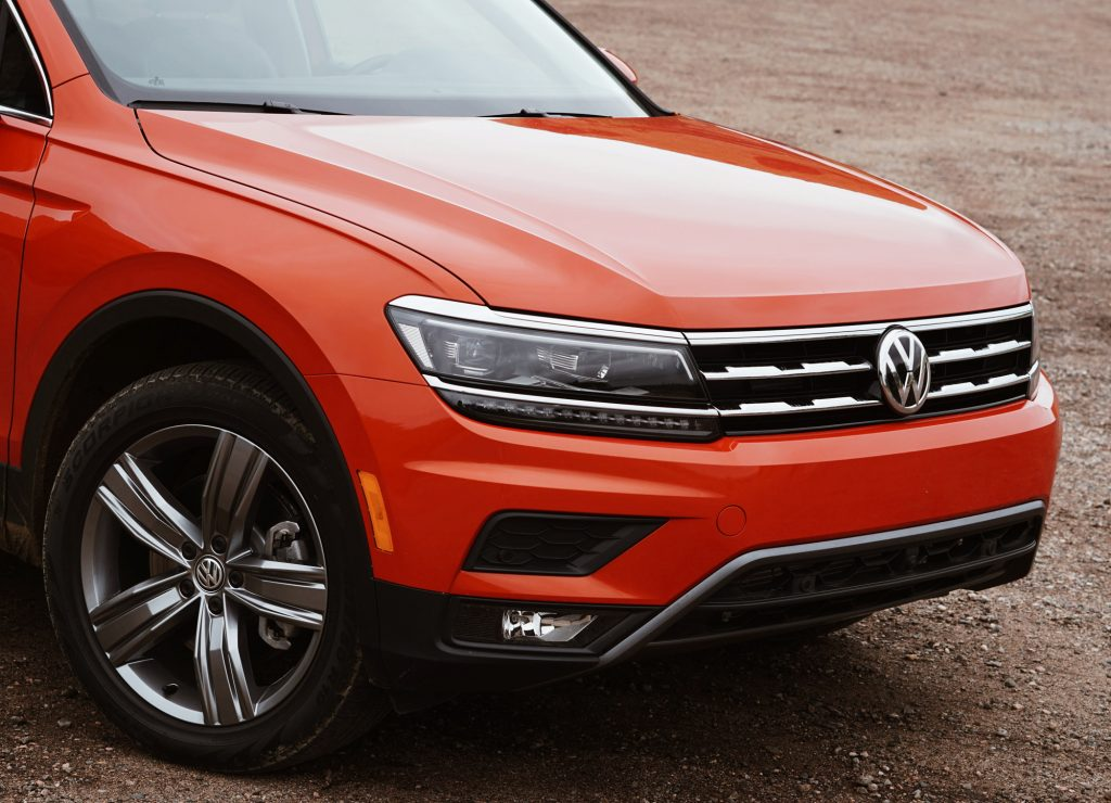 2018 Volkswagen Tiguan Habanero Orange Metallic