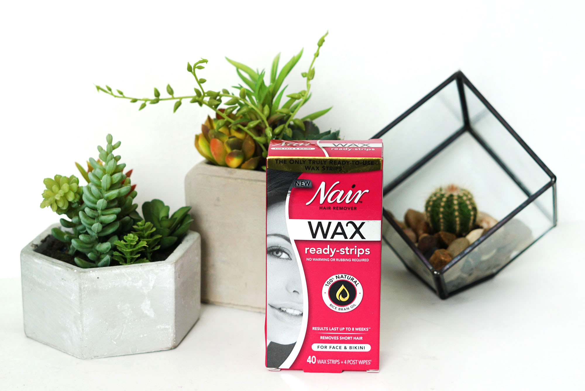 Nair Ready Wax Strips Review & Giveaway