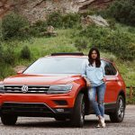 Car Blogger Influencer Chic Stylista Afroza Khan